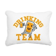 drinking-team_ye Rectangular Canvas Pillow