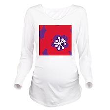 558-34.50-Mens Walle Long Sleeve Maternity T-Shirt