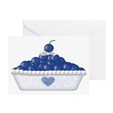 bluedlap Greeting Card