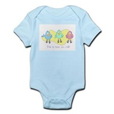 'How we roll' Infant Bodysuit