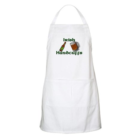 Irish Handcuffs BBQ Apron