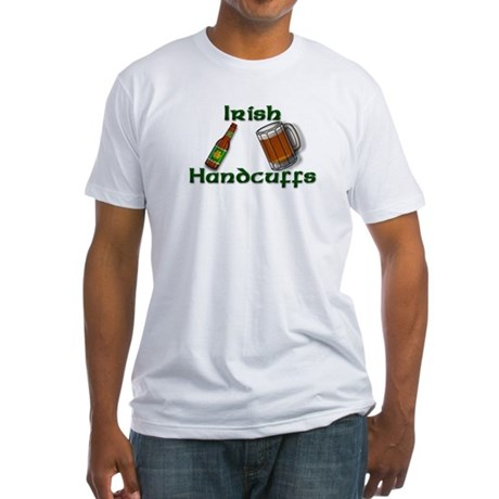 Irish Handcuffs Fitted T-Shirt