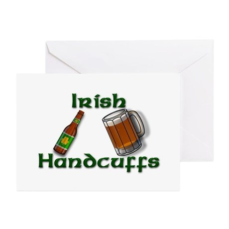 Irish Handcuffs Greeting Cards (Pk of 10)