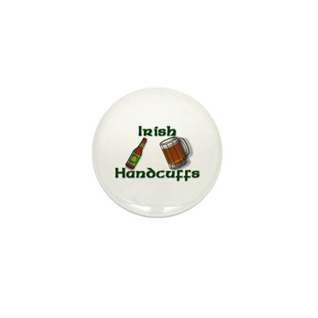 Irish Handcuffs Mini Button