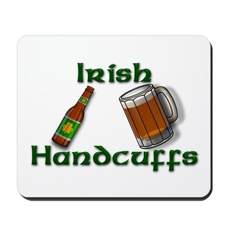 Irish Handcuffs Mousepad