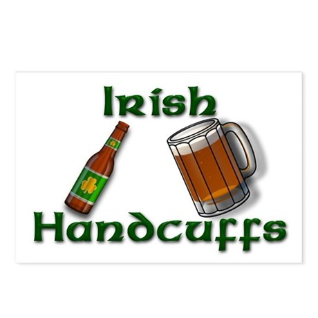 Irish Handcuffs Postcards (Package of 8)