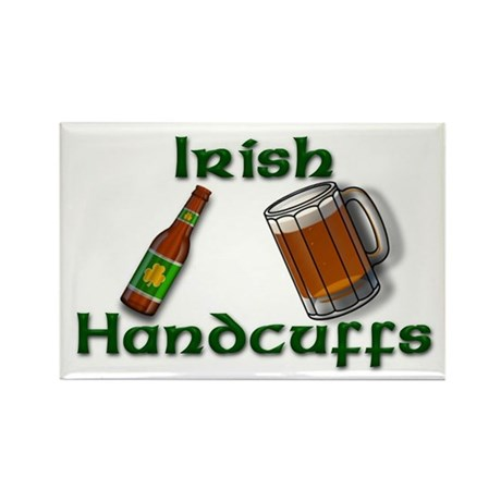 Irish Handcuffs Rectangle Magnet