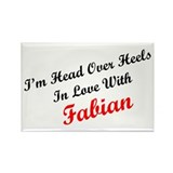 In Love with Fabian Rectangle Magnet