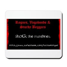 """Shock the mundanes"" Mousepad"