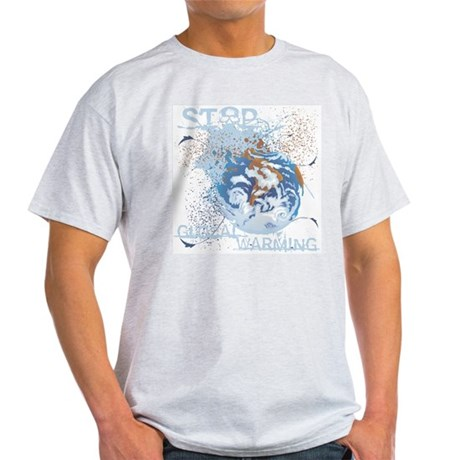 Stop Global Warming Light T-Shirt