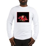 Christmas Night Squirrel Long Sleeve T-Shirt