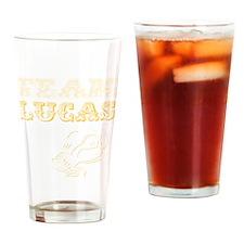 teamluckablk Drinking Glass