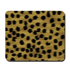 Faux Cheetah Print Pattern. Mousepad