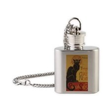 chatnoirjournal Flask Necklace