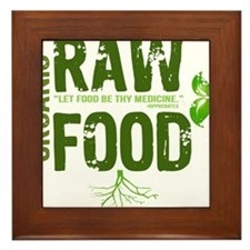 RAWFOODBUTTON Framed Tile