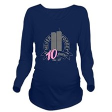 10yrs-womans-2 Long Sleeve Maternity T-Shirt