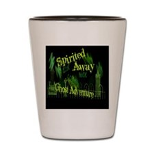 Ghost Adventure sticker Shot Glass
