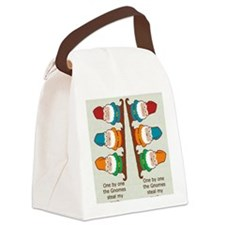 gnomesflipflopsonebyone Canvas Lunch Bag