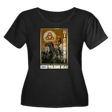 Michonne Zombie Slayer Women's Plus Size T-Shirt