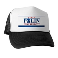 palin_button Trucker Hat