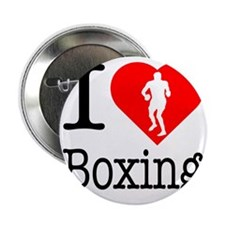 """I-Heart-Boxing 2.25"""" Button"""