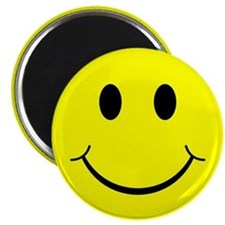 Classic Smiley Face Magnet