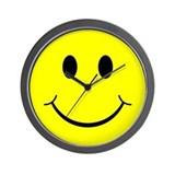 Classic Smiley Face Wall Clock