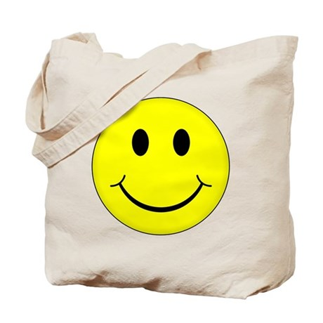 Classic Smiley Face Tote Bag