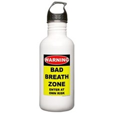 WARNING Bad Breath - P Water Bottle