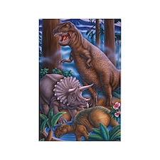 Tyrannosaurus Rectangle Magnet