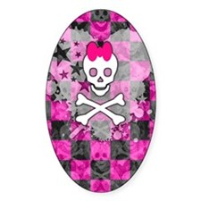 Princess Skull Decal