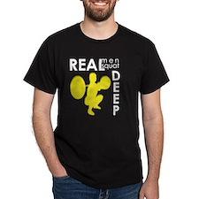 Real Men Squat Deep T-Shirt