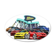 2004 GTO Car Dealer copy Wall Decal
