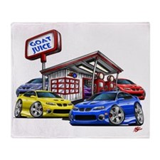 2004 GTO Gas Station png Throw Blanket