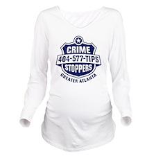 CS_new_FINAL_color Long Sleeve Maternity T-Shirt