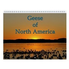 Geese Of North America Wall Calendar