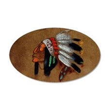 First Nations Chief Wall Decal