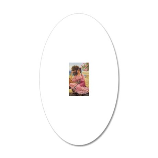 Godward-Flabellifera-iPad 2- 20x12 Oval Wall Decal