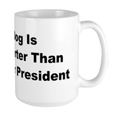 anti obama my dogbumper Mug