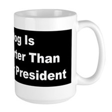 anti obama my dogbumperd Mug