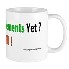 Miss your supplements yet? Mug