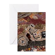 Ramblin On Journal upright Greeting Card
