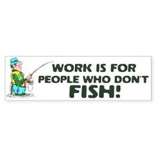 Fishing Bumper Bumper Sticker