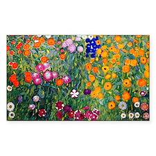 Klimt Flowers Clutch Decal