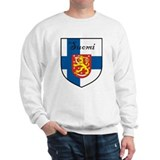 Suomi Flag Crest Shield Sweatshirt