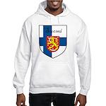 Suomi Flag Crest Shield Hooded Sweatshirt