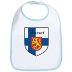 Suomi Flag Crest Shield Bib