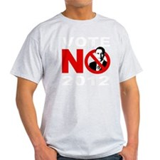 vote no 2012(blk) T-Shirt