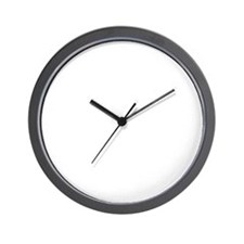 rugbyplayerwhite Wall Clock