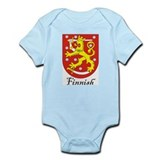 Finnish Coat of Arms Crest Infant Bodysuit